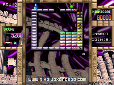 Arkanoid Returns (Japan) [Trackball]
