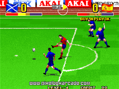 Ultimate 11 - The SNK Football Championship / Tokuten Ou - Honoo no Libero, The